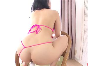 Kyouko Maki impresses with a handsome plaything pornography solo