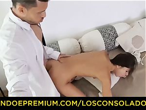 LOS CONSOLADORES - Russian Gina Gerson smashed in FFM