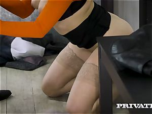 Private.com - Mia Malkova screws in the ass-pipe