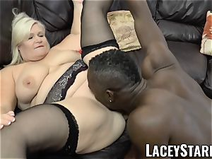LACEYSTARR - grandmother anally creampied with bbc