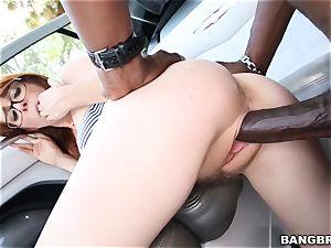Penny Pax treats herself to a dark-hued manhood