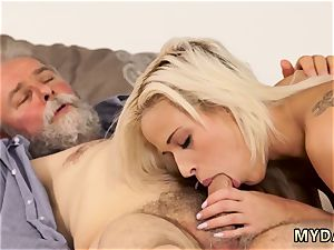 S fumbling knockers and vulva Surprise your girlplaymate and she will pulverize with your dad