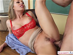 Nicole Aniston - My very first lecturer, who told me about hump and took my salami on the desk