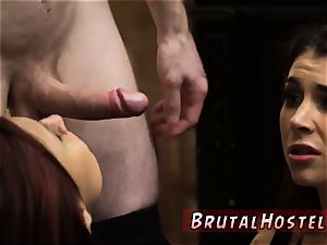 tough spanking hd aroused young tourists Felicity Feline and Jade Jantzen are
