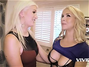 molten Swingers Sarah Vandella and Laela Pryce With BBCs