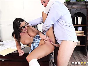 August Ames satiates the dean