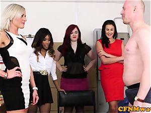 Mean female dom gang joy with Kiki Minaj