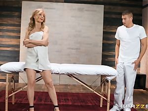 Mature Nina Hartley assets massage