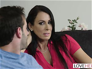 LoveHerFeet - Stepson boinks His Stepmom On The sofa