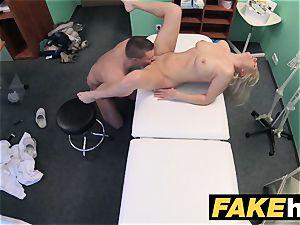 fake clinic gigantic breasts mummy chiropractor screws medic
