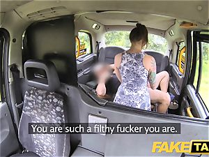 fake taxi wet milky panties in mouth and plumbed firm