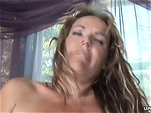 Getting that dark-hued man-meat stuck up her soddening humid muff