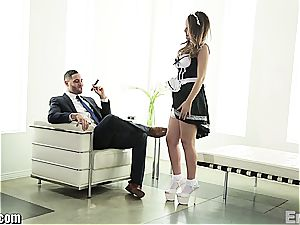 wonderful maid boinking her manager