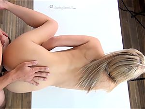 Bailey Brooks pummeling to get in the porn idustry