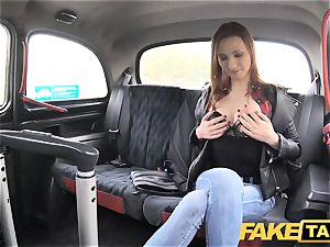 fake cab slim sandy-haired enjoys tough romp