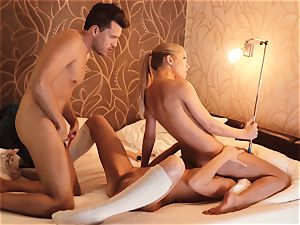 Los Consoladores - FFM hotwife act with Russian honey