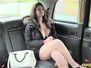 fake cab fat titties and jaw-dropping eyes takes fuck-stick