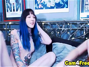 molten ginger-haired honey Gets romped By Her Tgirl Bestfriend