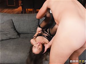 uber-sexy Riley Reid ass fucking ravage with suspended kinky Keiran