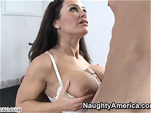 corporal Education lessons with big-titted milf Lisa Ann