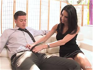 audition sofa with Bradley with a internal ejaculation