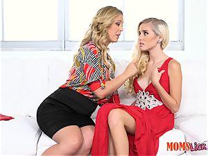 poon pie stepmom tempts her stepdaughter Naomi woods & Cherie Deville