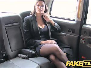 faux taxi super-fucking-hot chesty babe gets humungous jizm shot