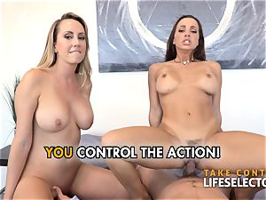 pov bang-out adventures with Abigail Mac and Brett Rossi