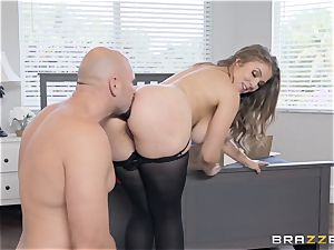 huge-boobed Lena Paul plumbed doggy-style