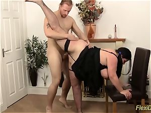 bbw bbw real flexi damsel plumbed