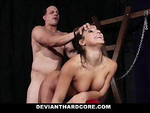 abnormal gonzo - ass-fuck stunner Abella brutally pummeled