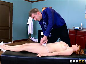 Patient Penny Pax plowed by immense dicked doc