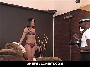 SheWillCheat - super hot asian wife railed By big black cock