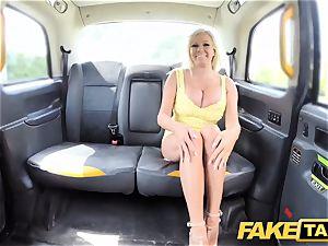faux taxi humungous knockers blondie Michelle Thorne