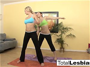 nice yoga ladies Brett