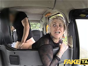 fake taxi blondie mummy gets surprise rectal hook-up