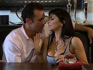 Romi Rain is thanked with a immense man rod nailing