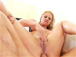 Sarah Vandella gets her super-fucking-hot arse wedged with stiff pecker