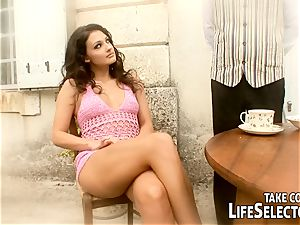 first orgy, naughty wishes with the magnificent Aletta Ocean