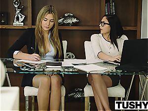 TUSHY Ariana Marie first ass-fuck