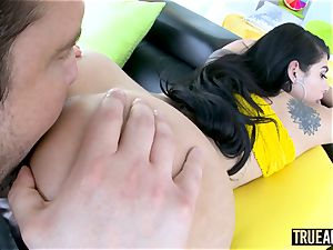 TRUE rectal Gina Valentina has her mexican bum boned