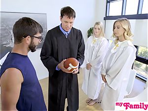 Church stunner pulverizes brother Behind Dads Back! S1:E4