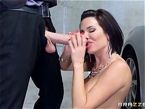 mischievous mature Veronica Avluv bent over and boinked