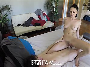 SpyFam Step sis Ariana Marie screwed