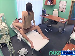 FakeHospital Minx fellates and boinks to get a job