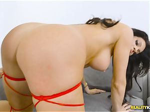 wild man meat throating Nikki Capone pusy cosseted plums deep