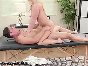 FantasyMassage Bailey Brooke On Top of masseuses spunk-pump!