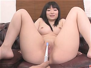 fucktoys banging Hina Maeda slit Makes Her spray