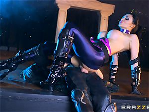Aletta Ocean jammed with the monster dick of Danny D