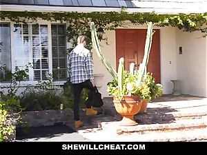 SheWillCheat - Mature wifey Gets Her cooter Piped